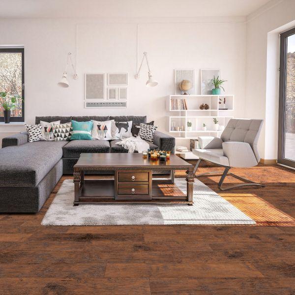 Smoked Hickory Waterproof Laminate, Select Surfaces Woodland Hickory Laminate Flooring
