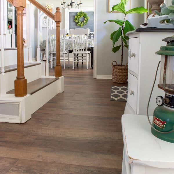 Barnwood Waterproof Laminate Flooring, Reclaimed Wood Laminate Flooring